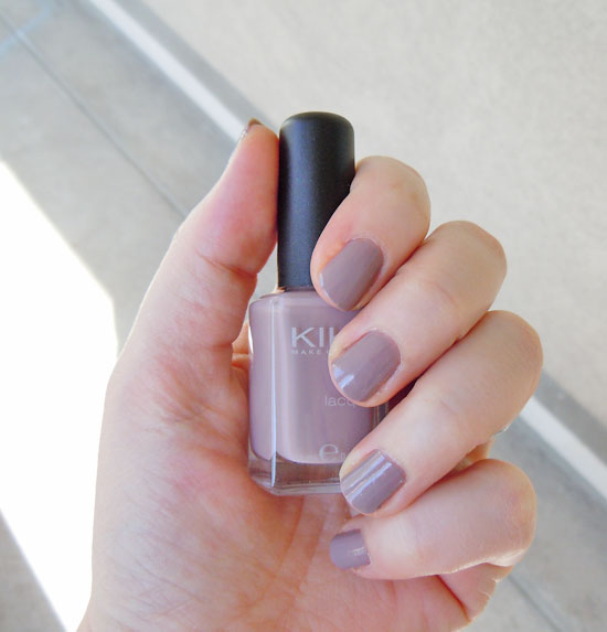 On my nails ... kiko-319